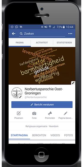 Volg Heilige Norbertusparochie Oost-Groningen op Facebook